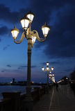 Luzes no passeio Fotos de Stock Royalty Free