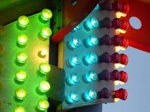 Luzes no passeio Fotos de Stock