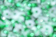 Luzes obscuras do bokeh do Natal Foto de Stock Royalty Free