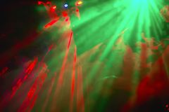 Luzes psicadélicos da cor Fotografia de Stock Royalty Free