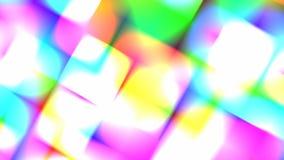Luzes rápidas calidoscópicos da cor do disco ilustração stock
