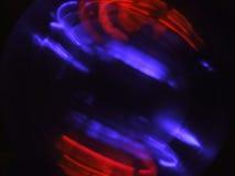 Luzes revolvendo fotografia de stock