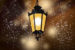 Luzes sós da cidade Fotografia de Stock