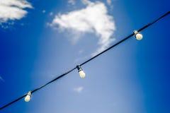 Luzes sobre Barca Imagens de Stock Royalty Free