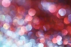 Luzes suaves abstratas elegantes festivas cor-de-rosa escuras do fundo fotos de stock
