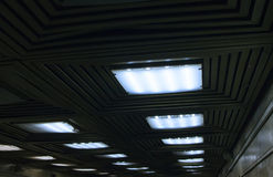 Luzes subterrâneas Foto de Stock Royalty Free