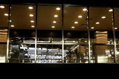 Luzes urbanas imagem de stock