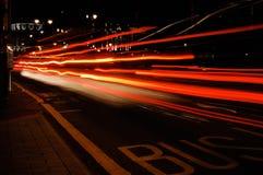 Luzes urbanas Foto de Stock Royalty Free