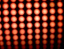 Luzes vermelhas conduzidas Fotografia de Stock