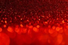 Luzes vermelhas e conceito do bokeh para o fundo O dia de Valentim, partido, conceitos do evento foto de stock royalty free
