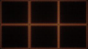Luzes VJ de piscamento do estroboscópio Laço conduzido de cintilação das luzes VJ piscar ilustração stock