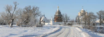 Luzhetsky Monastery Stock Photo