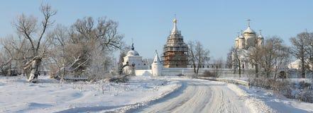 Luzhetsky Monastery Stock Photo