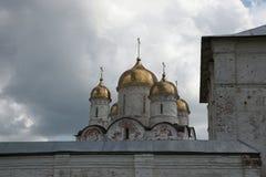 Luzhetsky monastery in Mozhaysk near Moscow, Russia. Royalty Free Stock Photos