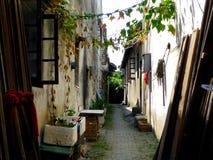Luzhi ancient town alley Stock Photos