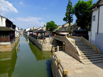 Luzhi ancient town stock photos
