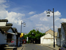 Luzhi ancient town Streetscape Royalty Free Stock Photo