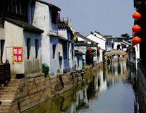 Luzhi ancient town view Royalty Free Stock Image