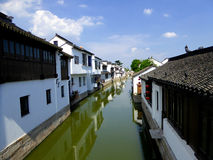 Luzhi ancient town view royalty free stock photography