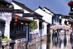 Luzhi Water Town Suzhou China royalty free stock images