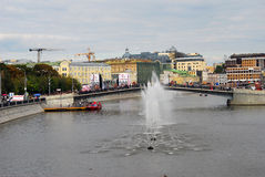 Luzhkov bro Royaltyfria Foton