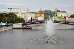 Luzhkov most Zdjęcia Royalty Free