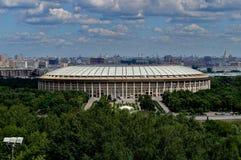 Luzhniki体育场在莫斯科 库存图片