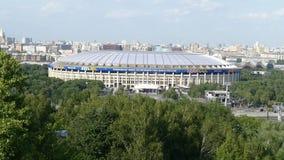 Luzhniki 2018 del estadio para arriba almacen de video