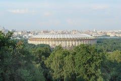 Luzhniki folâtre le complexe à Moscou, Russie Image libre de droits