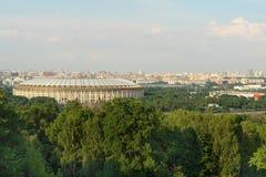 Luzhniki folâtre le complexe à Moscou, Russie Images stock