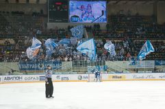 Luzhniki Ice Arena Royalty Free Stock Image