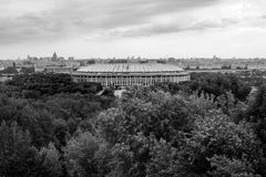 Luzhniki Olympic Sport Complex Stock Photo