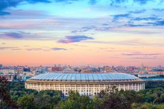 Luzhniki stadion Royaltyfria Foton