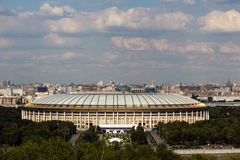 Luzhniki Stadion Stockfoto