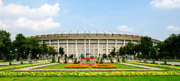 The Luzhniki Stadium in Moscow Royalty Free Stock Photography