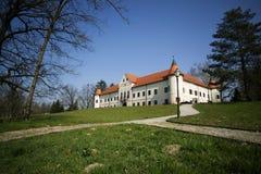 Luznica slott Arkivbild