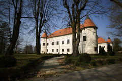 Luznica slott nära Zapresic Royaltyfria Foton