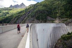 Free Luzzone Dam In Switzerlamd Royalty Free Stock Image - 97444866
