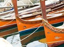 Luzzu di Malta al porto del marsaxlokk Fotografia Stock Libera da Diritti