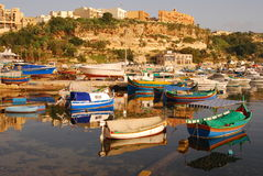 Luzzu at Gozo Malta Stock Photography