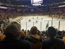 LV Knights vs Nashville Predators 1/16/18. Predators Hockey Game Stock Images