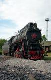 LV-0283 parowa lokomotywa, Moskwa, Rosja Obraz Stock