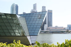 LV Pavilion at Singapore Royalty Free Stock Image