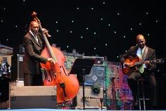 LVIL, UCRÂNIA - 4 de junho: Trio de Ron Carter Imagem de Stock