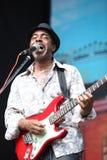LVIL, UCRÂNIA - 4 de junho: Trio de Vasti Jackson imagem de stock