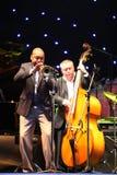 LVIL, UCRÂNIA - 3 de junho: Wynton Marsalis e quarteto de Igor Butman fotografia de stock royalty free