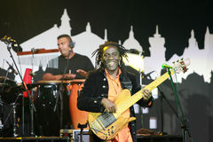 LVIL, UKRAINE - JUNE 1, Richard Bona Band Royalty Free Stock Image