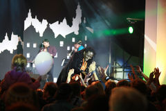 LVIL, UKRAINE - JUNE 1, Richard Bona Band Royalty Free Stock Photography