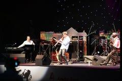 LVIL, UKRAINE - June 4: Jeff Lorber Fusion. In concert during Alfa Jazz Festival on June 4, 2011 in Lviv, Ukraine stock photos