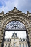 lviv宫殿potocki 巡回表演者 库存照片